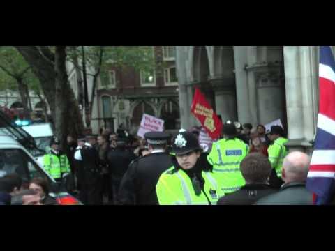 BNP Demonstration in London - 8th November 2010 - 720p HD