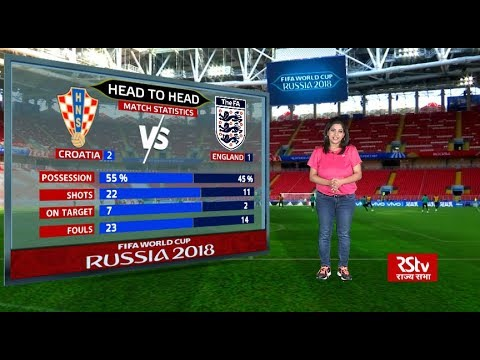 FIFA World Cup Stats Zone: Match Statistics - Croatia vs England