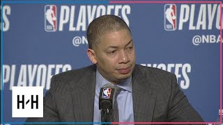 Tyronn Lue Postgame Press Conference | Pacers vs Cavaliers - Game 2 | 2018 NBA Playoffs