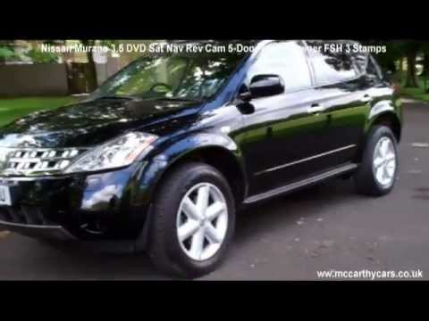 Used Nissan Murano 3.5 DVD Sat Nav Rev Cam 5-Door Auto for sale McCarthy Cars Croydon BV58