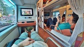 발 냄새 빼고는.. 꽤나 괜찮았던 베트남 슬리핑 버스.…