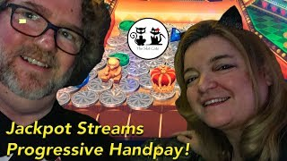 HANDPAY HUGE PROGRESSIVE JACKPOT 🍾 HIGH LIMIT JACKPOT STREAMS 👑 The Slot Cats 🎰😺😸