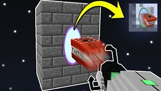 PORTAL GUN COM TNT WARS! (MINECRAFT)