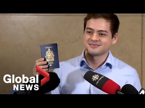 Canadian-born Son Of Russian Spies Addresses Media After Citizenship Affirmed