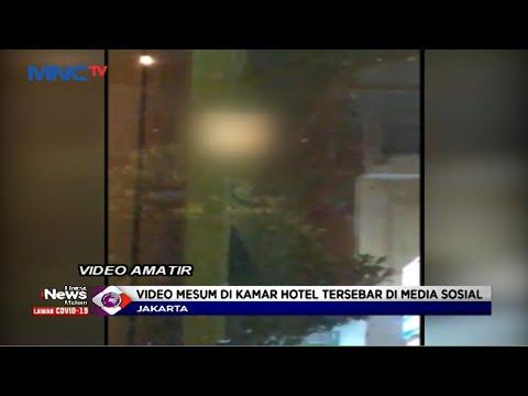 Lupa Tutup Tirai, Aksi Mesum Sepasang Kekasih di Hotel Direkam Warga - LIM 28/07