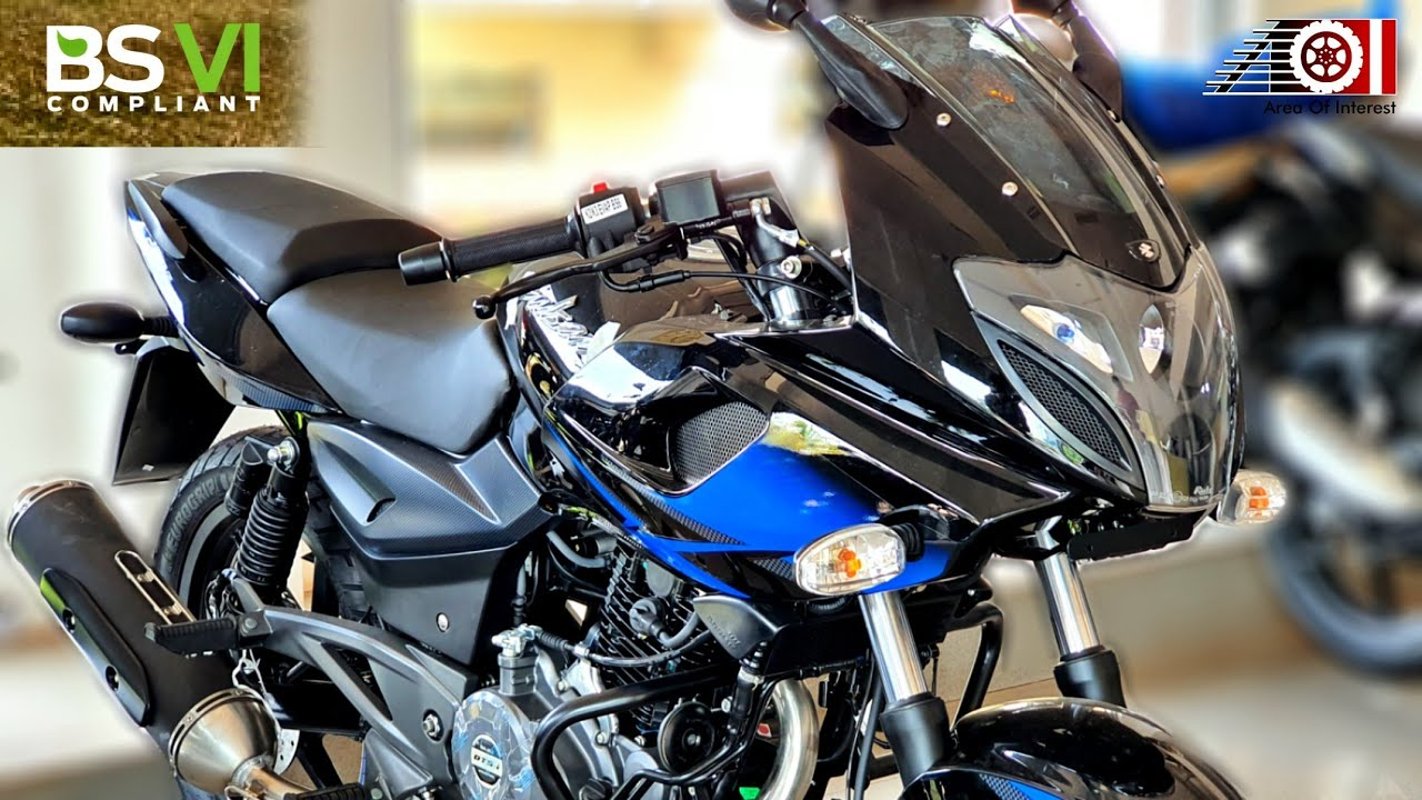 2020 Bajaj Pulsar 220F BS6 ABS Blue Colour | On Road Price | Mileage | Features | Specs