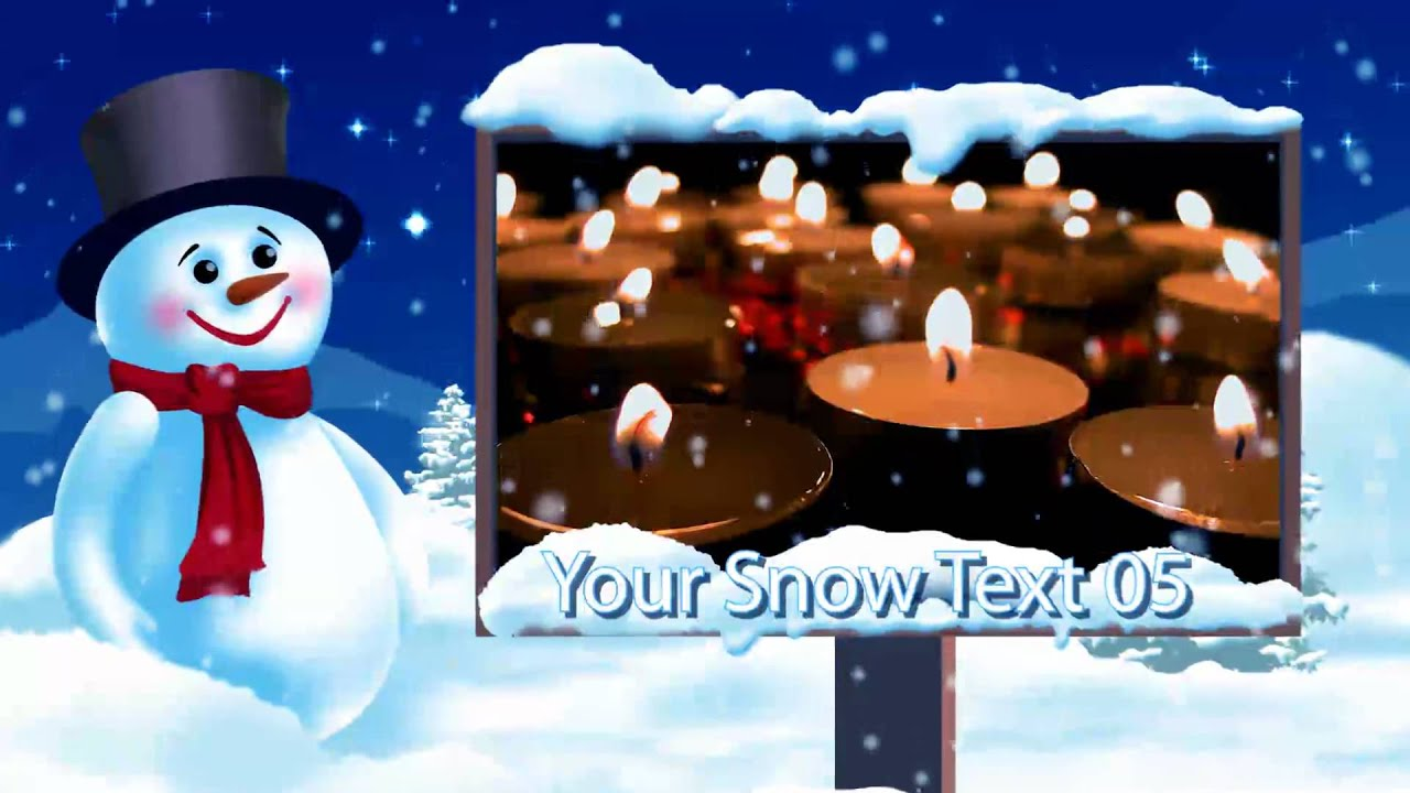weihnachts videos von mymotionclip the winter. Black Bedroom Furniture Sets. Home Design Ideas