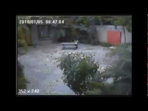 Live footage of the 2010 earthquake in Haiti