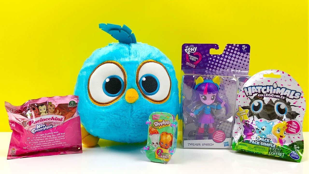 6da80d11b23e Hatchimals Blind Bag Shopkins My Little Pony Equestria Girls Minis Twilight  Sparkle Angry Birds