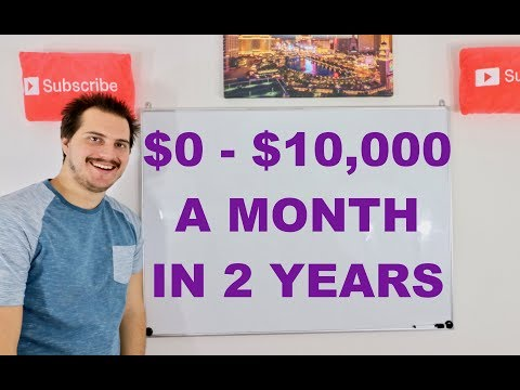 $0 - $10,000 a Month Income in 2 Years! | My Story!