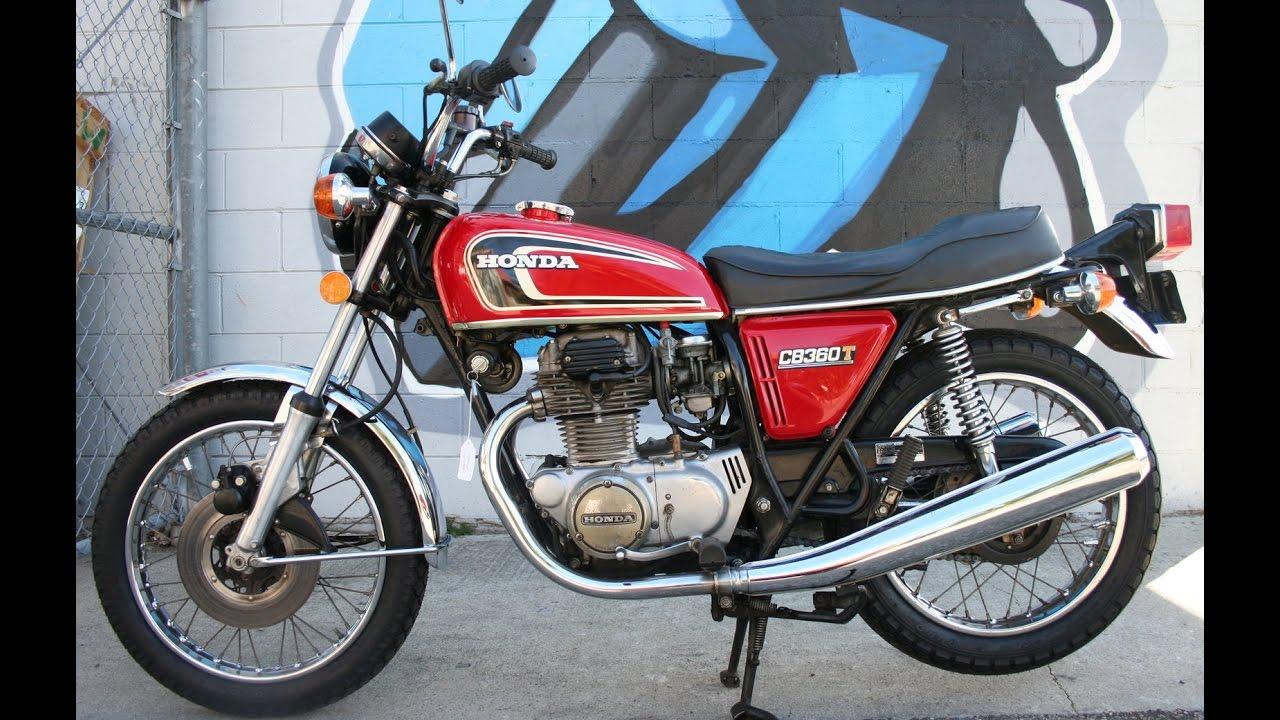 1975 Honda Cb360t     Clean Classic Twin