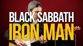 Как играть Blaсk Sabbath Iron Man - Уроки игры на гитаре Первый Лад