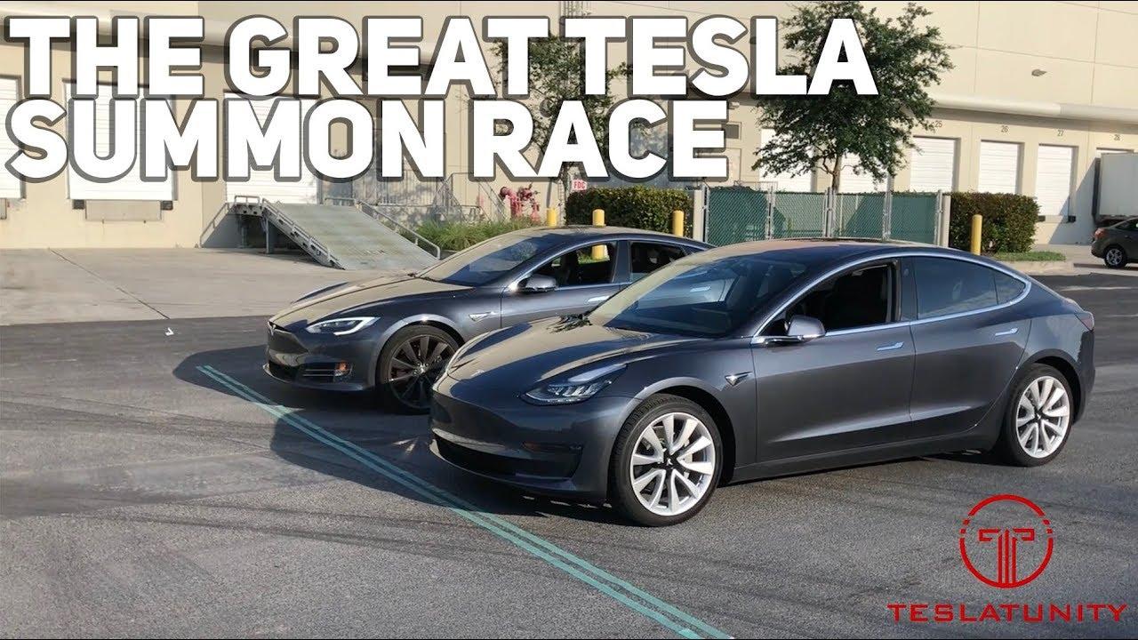 The Great Tesla Summon Race