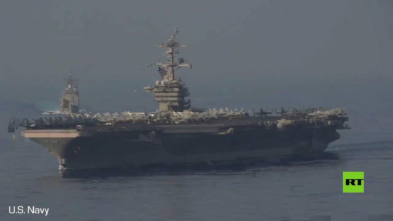 شاهد.. حاملة -ثيودور روزفلت- الأمريكية ترافقها مجموعة من السفن الحربية في بحر الصين الجنوبي  - نشر قبل 33 دقيقة