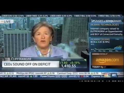 Kathy Wylde, CEO of the Partnership for New York City, Discusses Fiscal Cliff (10/25/12)