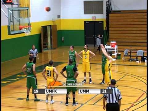 UMFK Men's Basketball vs. University of Maine at Machias - December 5, 2013