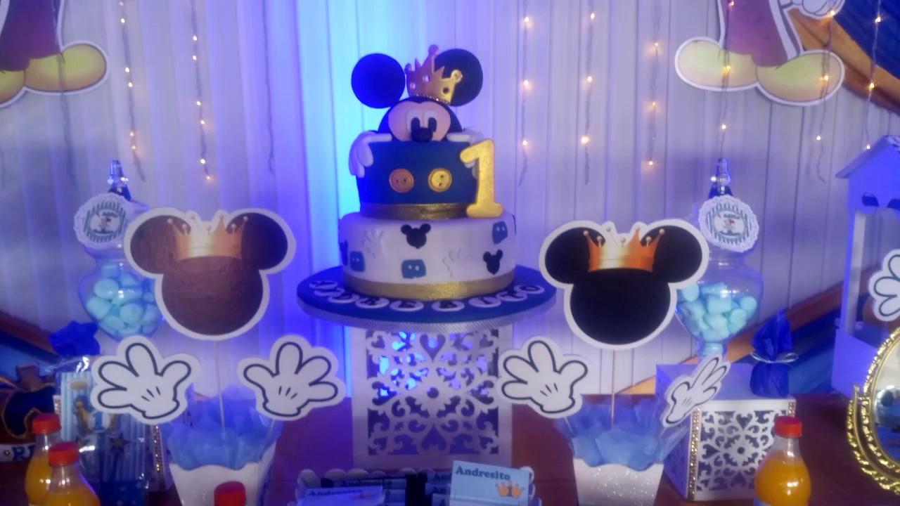 Decoracion Fiesta Tematica Mickey Cinemapichollu