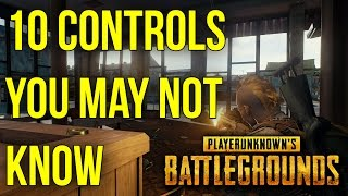 10 Controls You Might Not Know In BATTLEGROUNDS