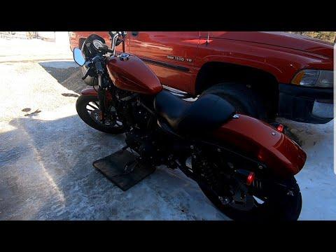 Harley Davidson Sporster 883. 2-2-2020