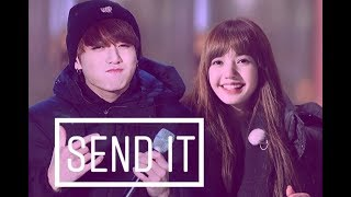 Download lagu Lizkook Lisa Jungkook send it
