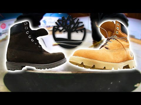 INCREDIBLE TIMBERLAND BOOTS STUPID SKATE | STUPID S K A T E Ep. 128