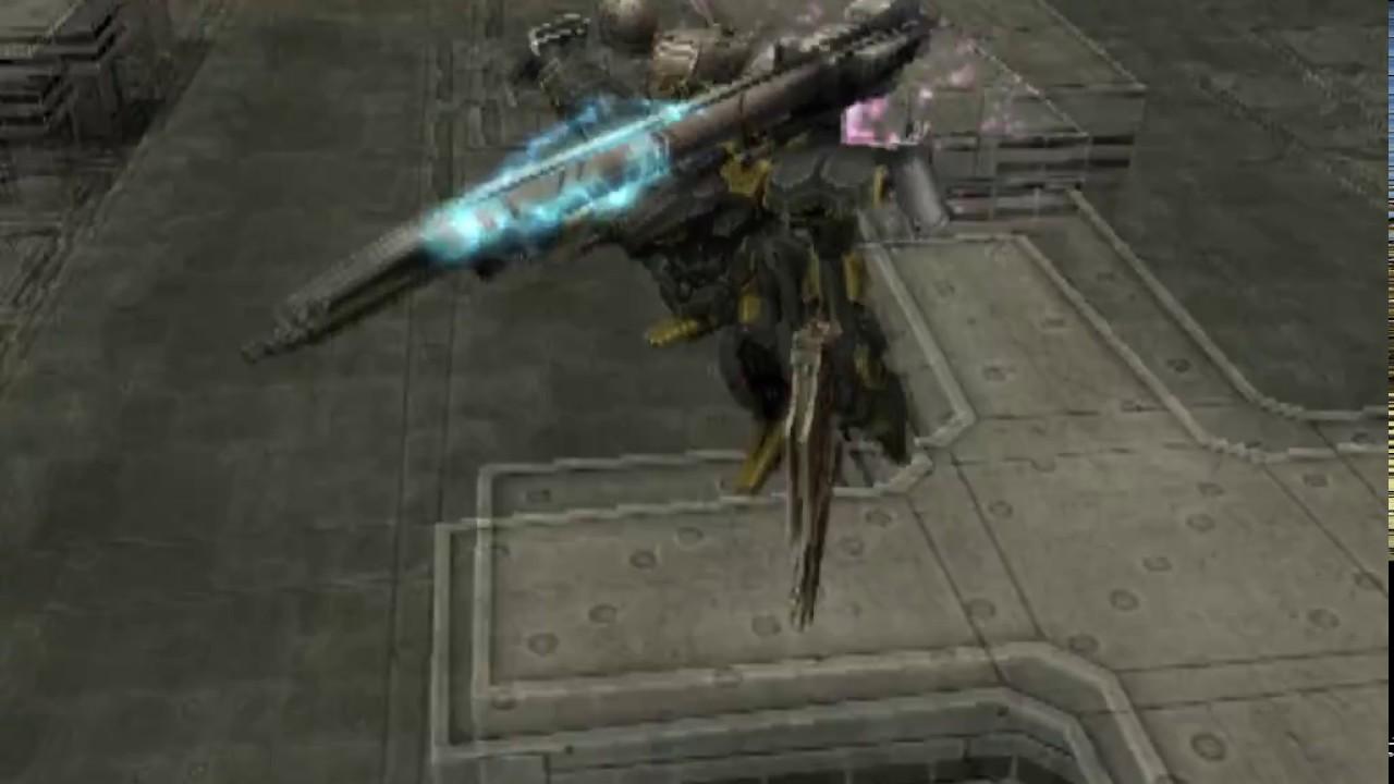 Armored Core 3 Silent Line Online Pvp Strangle Thunderhouse Vs