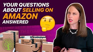 What questions do you have about selling on Amazon? | w/Emily Davcev
