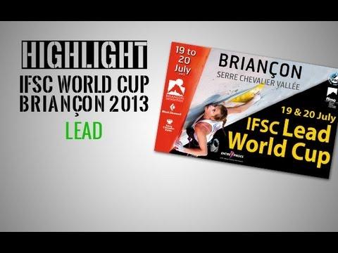 IFSC Climbing World Cup Briançon 2013 - Lead - Highlights