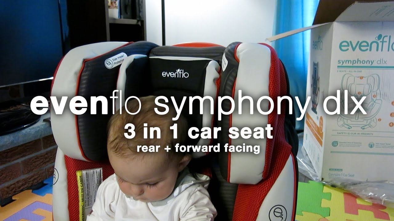 Evenflo Symphony DLX 3 In 1 Car Seat Whats The Box