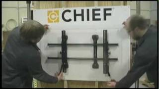 How to Install Chief Fusion Flat Panel Mounts