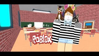 WE ESCAPE THE SCHOOL // SCHOOL OBBY // ROBLOX