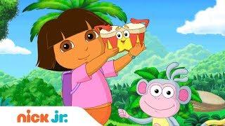 'Canciones' 🎤  Video Musical con Dora la Exploradora y Bubble Guppies (Español) | Nick Jr.