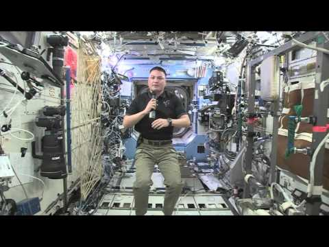 NASA Astronaut Talks About Life and Work on the Space Station