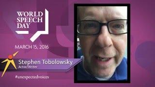 World Speech Day: Stephen Tobolowsky