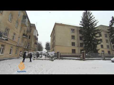 Unrest spreads across Ukraine