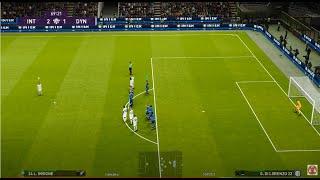 PES 2020 - Inter vs Dynamo Kyiv (2 FREE KICK GOALS!) Online Match myClub