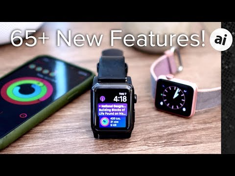 65+ new features in watchOS 5 for Apple Watch