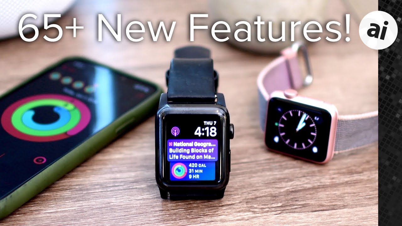 watchOS 5 for Apple Watch now available with Podcasts and Walkie-Talkie apps, much more