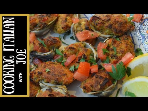 How to Make World's Best Stuffed Clams Cooking Italian with Joe