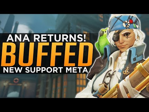 Overwatch: Ana Is BACK! - New Support Meta!