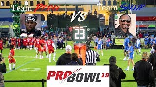 Today we went to the espn wide world of sports at walt disney resort check out celebrity flag football game for 2019 pro bowl. capt...