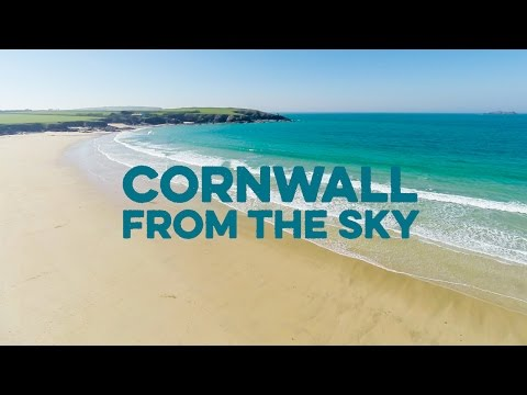 Cornwall from the Sky: Aerial video of Padstow and surrounding beaches