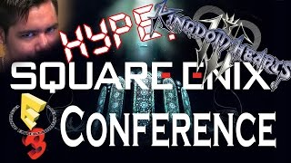 KINGDOM HEARTS 3 @ E3 2015? SQUARE ENIX HOLDS E3 CONFERENCE!