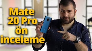 Huawei Mate 20 Pro inceleme - iPhone'u şarj eden telefon mu olur?