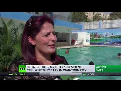 'We continue living' – Aleppo residents refuse to leave city despite war
