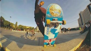 Shredding through Bulgaria on skateboards