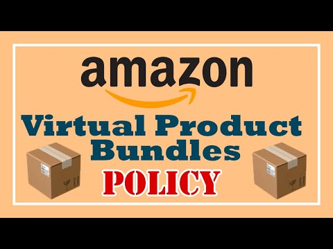 Amazon's Virtual Product Bundles Policy