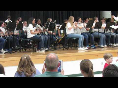 Arabian Dances - Hanahan Middle School Band 2016