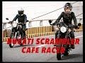 GakiMoto 89 : G2G -Girly 2 Girl Reviews : Ducati Scrambler Cafe Racer