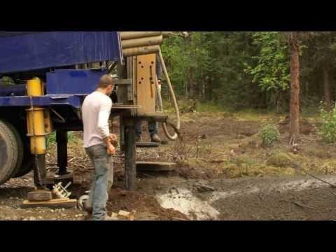 "Life in the Alaska Bush # 66    "" Well drill """